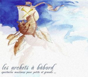 logo cie les archets a bâbord